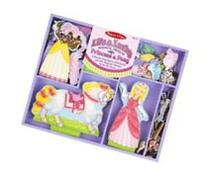 Lila & Lucky Magnetic Dress-Up - Imaginative Play Set by