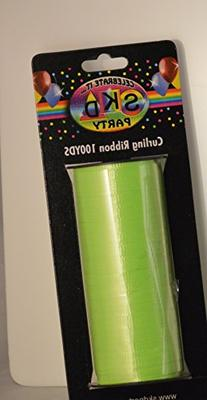 Lime Green Curling Ribbob