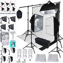 Linco Lincostore Studio Lighting 3 Point Light Backdrop