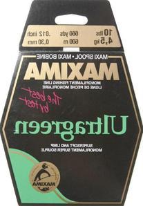 Maxima Line Maxi Spool - Ultra Green - 4 lb