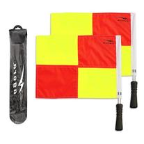 AGORA Pro Line Premium Soccer Referee Flags with Case