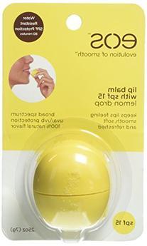 Eos Lip Balm,SPF 15,Lemon Dro 0.25 Oz