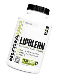 NutraBio LipoLean Fat Blocker with 1500mg Ultra Liposan