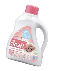 Dreft Liquid 2X HE - 100 oz - 2 pk