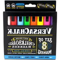 Chalk Markers for Chalkboard by VersaChalk  - Erasable