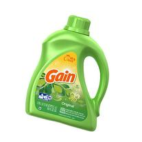 Gain Freshlock Liquid Laundry Detergent, Original Fresh, 100