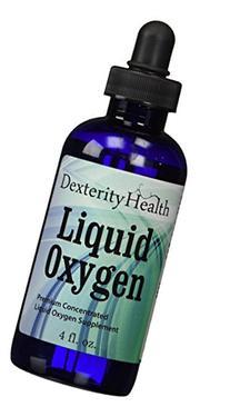Liquid Oxygen Drops, Stabilized Oxygen Drops, Premium