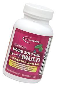 Applied Nutrition Women's Liquid Soft-Gel 12-in-1