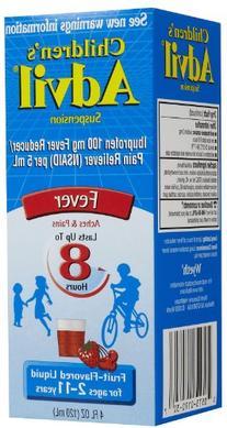 Children's Advil, Fruit Flavored Liquid, 4 Ounce