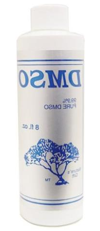 Nature's Gift 99.9% Pure DMSO Liquid, Plastic, 8 Fluid Ounce