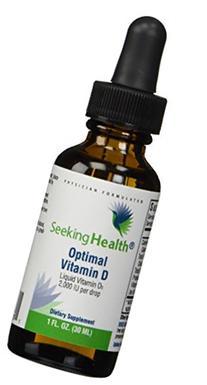 Optimal Vitamin D3 Liquid | 2,000 IU Per Drop | 900 Servings