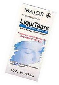 MAJOR Liquitears Ophthalmic Drops, 1.4%, 15mL
