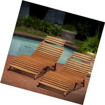 Lisbon Outdoor Folding Chaise Lounge Chair