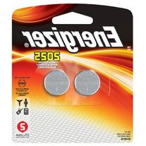 Energizer Lithium Coin Watch/Electronic Battery 2025, 2-
