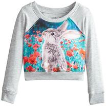 Jessica Simpson Little Girls' Ariel Novelty Bunny Pullover,