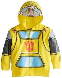 Bumblebee Toddler Boys' Character Hoodie, Yellow, 2T