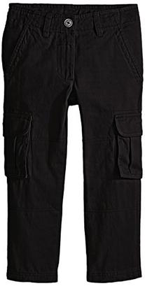 French Toast Little Boys' Cargo Pant, School Black, 5