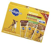 Pedigree Little Champions 12 Pouch Variety Pack Dog Food