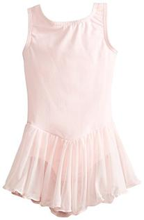 Clementine Little Girls' Leotard Dress, Light Pink, 3-4