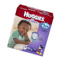 Huggies Little Movers Diapers Economy Plus, Size 4, 160