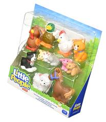 Fisher-Price Little People Farm Animal Friends with Baby