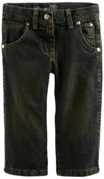 Wrangler Little Boys' Relaxed Fit Straight Leg Jeans,
