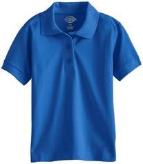 Dickies Little Boys' Short Sleeve Pique Polo Shirt, Gold,