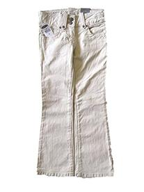 Old Navy Little Girl Skinny Stretch Jeans Tan 5 Pocket Sz 5