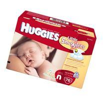 Huggies Little Snugglers Diapers for Newborn, Big Pack, 76