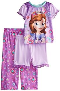 Disney Little Girls' Sofia The First Flower Fun 3-Piece
