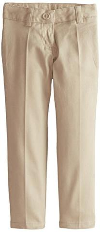 French Toast Little Girls' Stretch Twill Skinny Leg Pant,