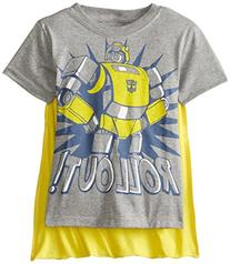 Transformers Little Boys' Toddler Bumblebee Roll Out Cape T-