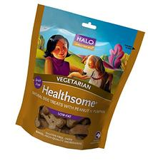 Halo Vegan Grain Free Natural Crunchy Dog Treats, Garden Of