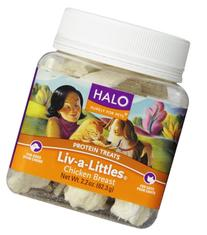 Halo Liv-a-Littles Natural Treats for Dogs and Cats, Freeze-
