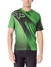 Fox Men's Livewire Descent Jersey, Green, Large