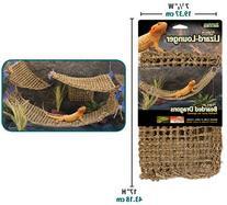 Penn Plax Lizard Lounger, 100% Natural Seagrass Fibers For