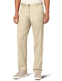 Haggar Men's Life Slim Fit Flat Front Chino Casual Pant,