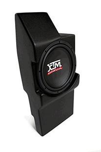 MTX Loaded, AMPLIFIED Sub Enclosure for CHEVY Silverado,