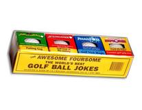Loftus AU-0006 Golf Ball- 4 Pack