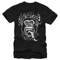 Gas Monkey Garage Logo Black T-Shirt