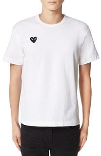 Men's A.P.C. Logo Graphic T-Shirt White Small