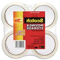 Scotch Long Lasting Storage Packaging Tape, 1.88 Inches x 54