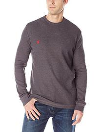 U.S. Polo Assn. Long Sleeve Crew Neck Thermal L, Dark Grey