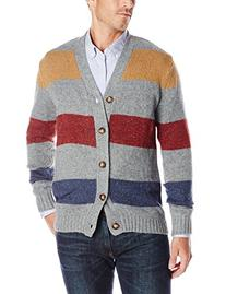 Unionbay Men's Long Sleeve Damon Nep Button Up Cardigan