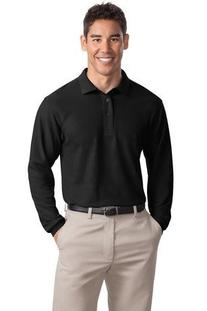 Port Authority Men's Port Authority Long Sleeve Silk Touch