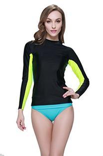 Women's Long Sleeve Swim Shirt Rash Guard
