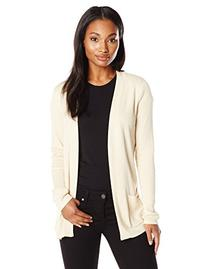 Anne Klein Women's Long Sleeve Two Pocket Cardi, Sail Cloth