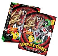 Aquarius Looney Tunes That All Folks Jigsaw Puzzle