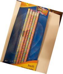 Looney Tunes Wood Pencils ~ Set of 5