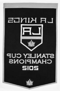 Los Angeles Kings Official NHL 24 inch x 37 inch Banner Flag